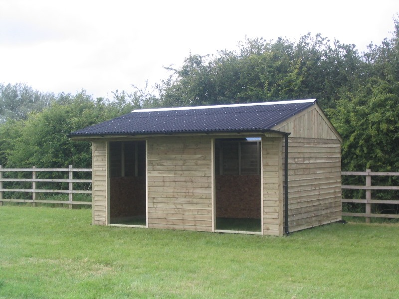 18 ft x 12 ft Field Shelter