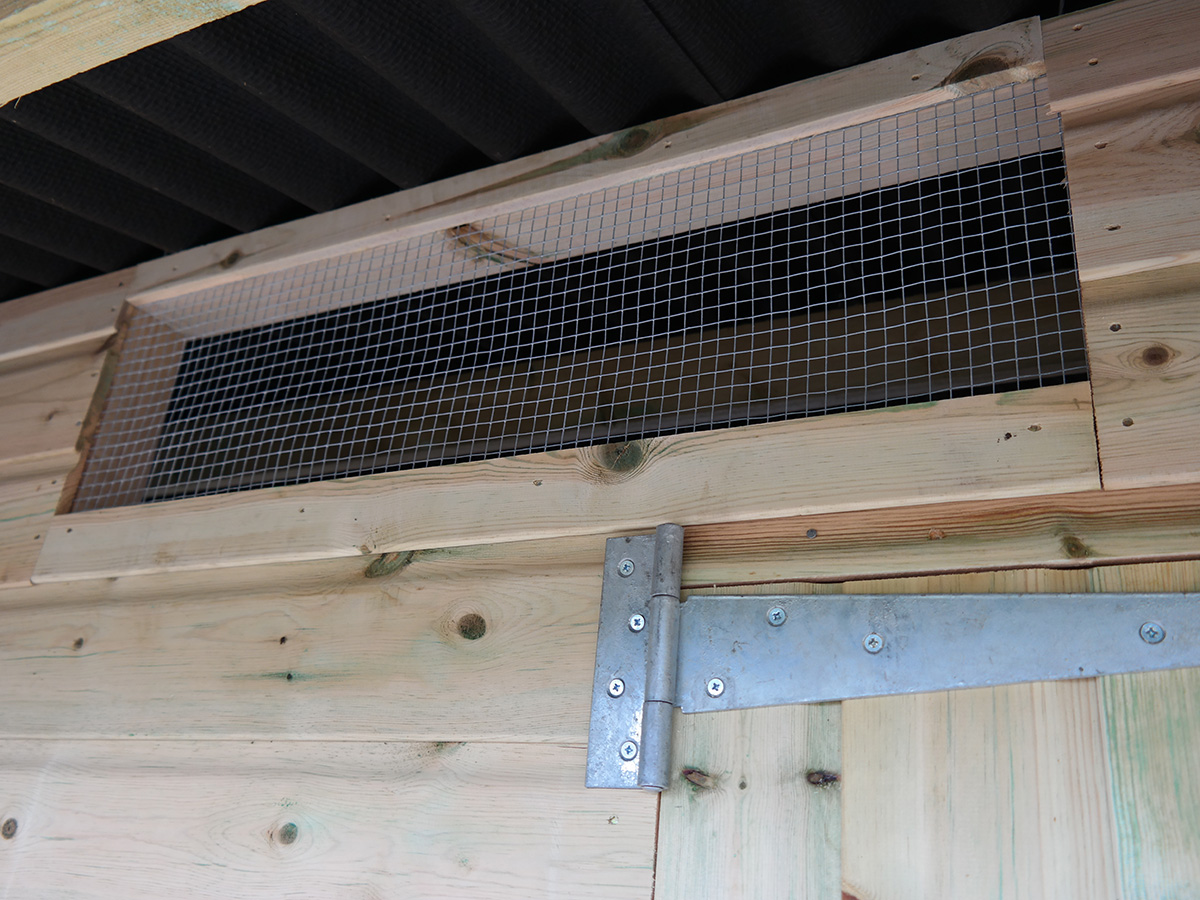 stable arbour vent