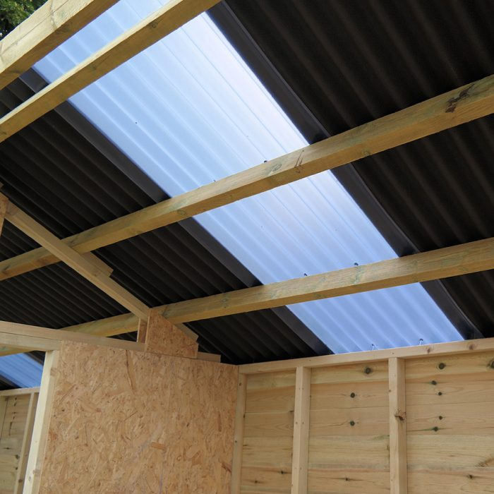 Field Shelter Roof Light